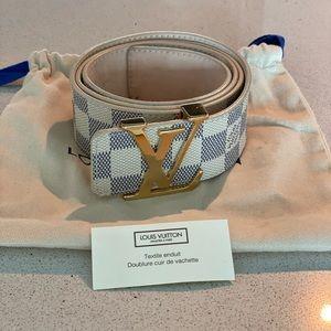 Men's  LV belt